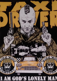 Poster Taxi Driver - 42cm X 30cm
