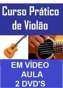 Aulas De Violão 2 Dvds! Bom, Pague Pelo Mercado Pago
