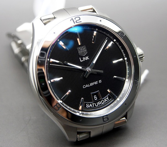 Tag Heuer Link Calibre-5-day-date-automatic-watch-42-mm