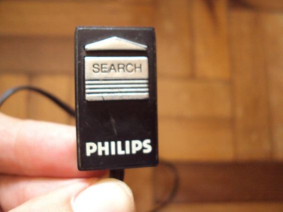 Botão Search Busca Som Rádio Tv Philips Antigo