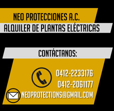 Alquiler De Planta Electrica