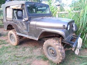 Jeep Willys Ano 60. Vendo Ou Troco Por Kombi De Menor Valor.