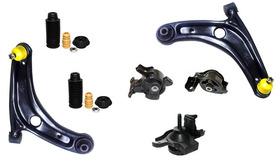 Calços Coxins Motor Câmbio Balança Kit  Fit 03/08 Manual