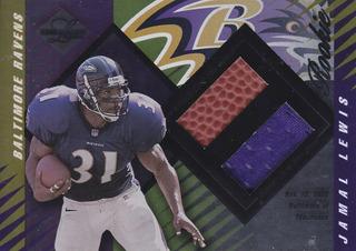2000 Leaf Limited Rookie Jersey Football Jamal Lewis Rb