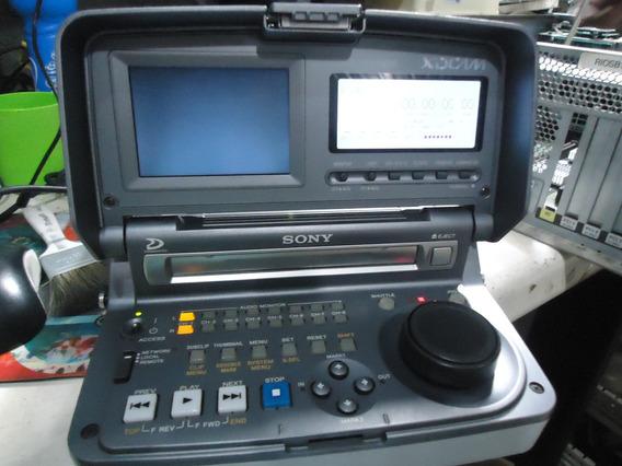 Leitor De Discos Xd Cam Sony Pdw V1 Professional