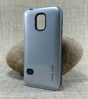 Capa Galaxy S5 Mini G800 Anti Impacto + Película De Vidro