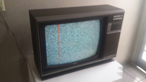 Tv Philips Trend 1 Colorida Retro Vintage Campinas