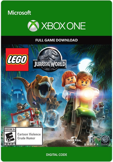 Lego Jurassic World - Xbox One - Codigo 25 Digitos Original