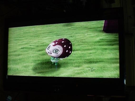 Tv Samsung Ln40m81b Funcionando Riscos Na Imagem Veja Fotos