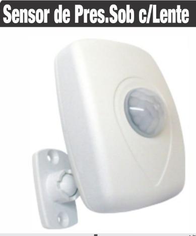 Sensor De Presença | Fotocélula | Lente 360º | Bivolt