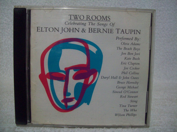 Cd Elton John- Two Rooms- Celebrating The Songs- Importado