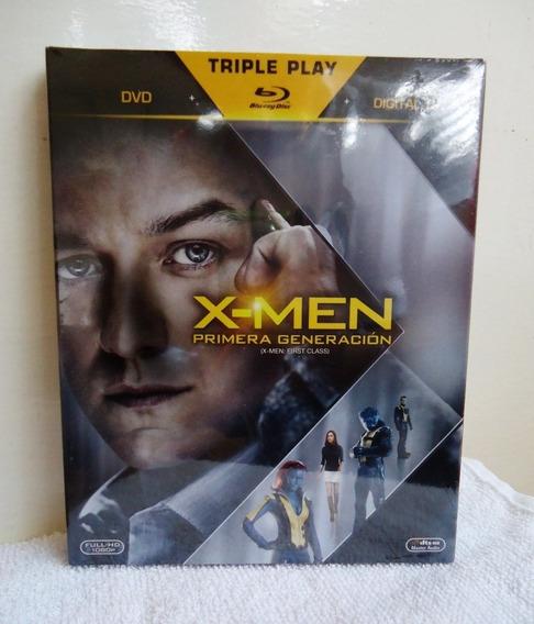 X-men Primera Generacion Pelicula Blu-ray + Dvd