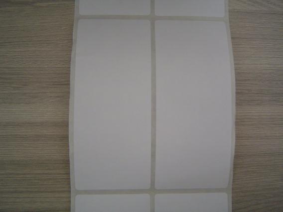 Etiqueta Adesiva Couché 50mm X 120mm 2 Colunas Argox / Elgin