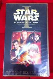 Star Wars Phantom Menace [amenaza Fantasma] (vhs, 2000) Fn4