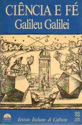 Livro Ciência E Fé Galileu Galilei