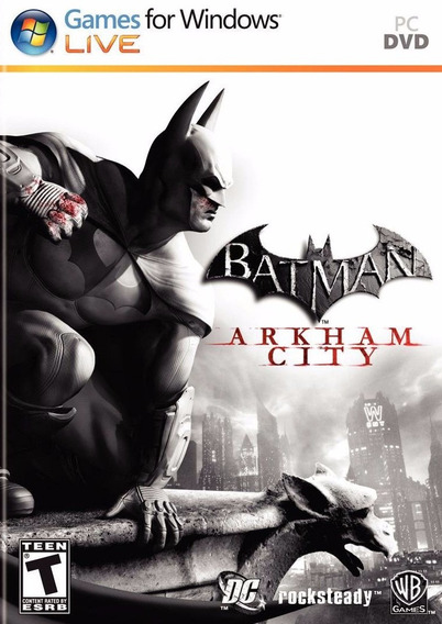 Batman Arkham City Goty Pc Envio No Mesmo Dia Original!