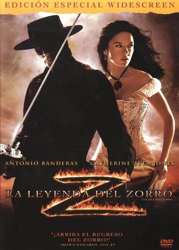 La Leyenda Del Zorro Antonio Banderas Pelicula Dvd