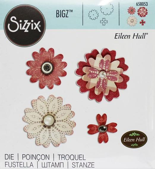 Troqueles Sizzix Flower Layers- Dies N885