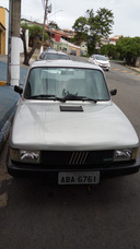 Fiat Fiorino Pick-up 1987 Prata