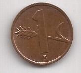 Suiza Antigua Moneda De 1 Rappen Año 1954 !!