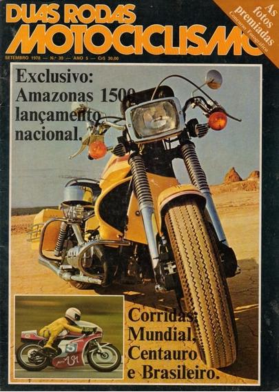 Duas Rodas N°39 Moto Amazonas 1500 Corridas Mundial Centauro