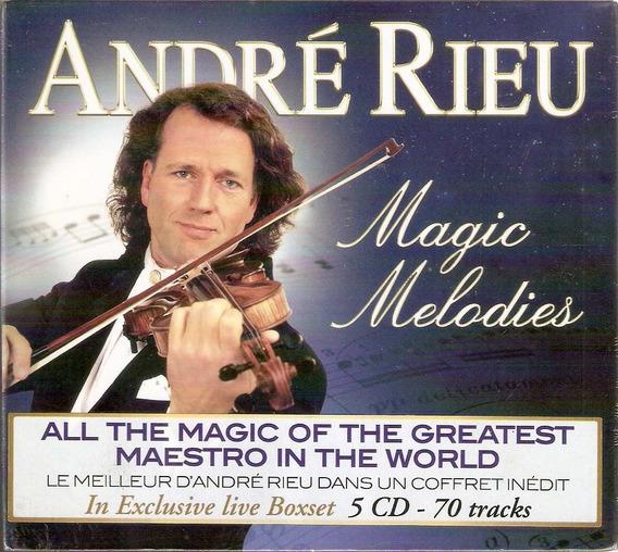 Box 5 Cd André Rieu - Magic Melodies - Novo***
