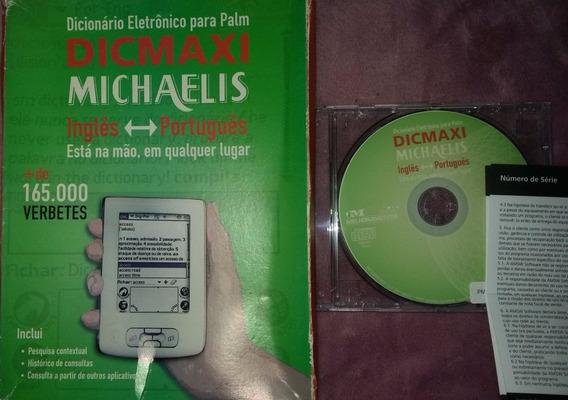 Cd Original Dicionário Eletrônico Para Palm Dicmaxi Michaeli
