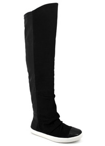 Bota Tênis Feminino Over Knee Carrano Preto 111837