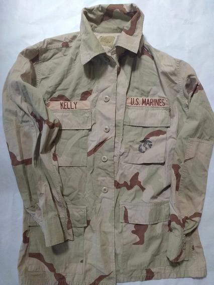 Camisola Militar Original Desierto Us Marines Autentica