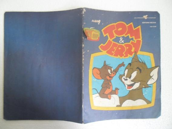 Album De Figurinhas Tom E Jerry Ed. Vecchi