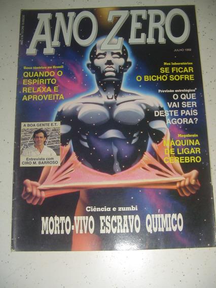 Revista Ano Zero 15 Zumbi Ciro Barroso Astrologia Bruch1992