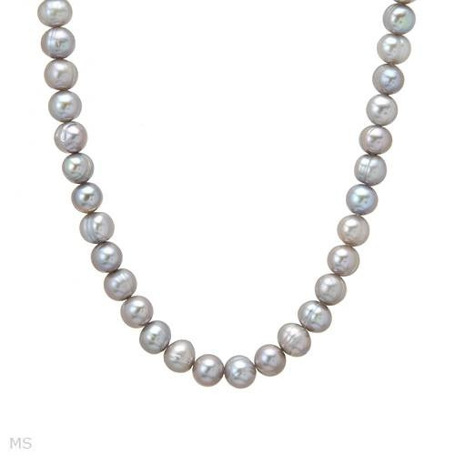 Collar De Perlas De Agua Dulce De Dama 02246614
