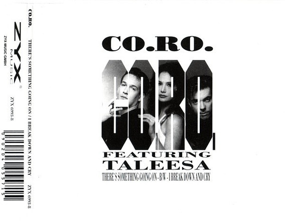 Cd Single Co.ro Feat. Talessa - There