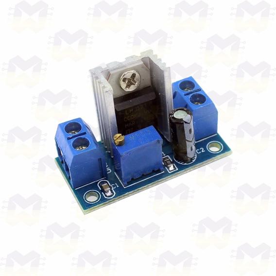 Módulo Regulador De Tensão Ajustável Dc-dc Lm317