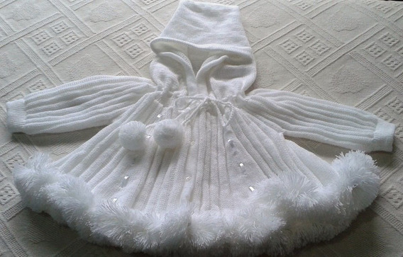 Casaco Fitinhas Agasalho Frio Inverno Bebê Meninas Ref. 134