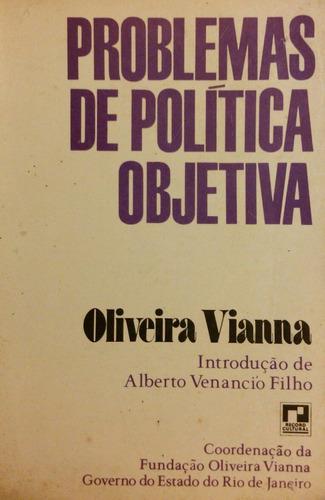 Imagem 1 de 2 de Problemas De Política Objetiva