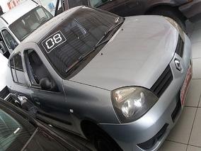 T Clio Sedan 1.6 Authentique 16v 2008 - Aceito Troca