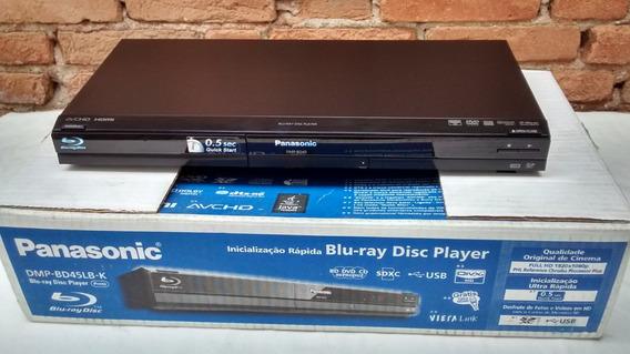 Blu-ray Panasonic Slim Full Hd 1080p+sem Juros+frete Grátis