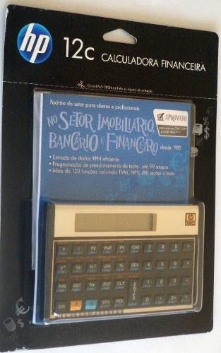 Calculadora Financeira Hp 12c - Original
