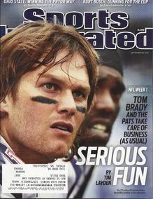 Sports Illustrated: Tom Brady / Rafael Nadal / Carlos Gonzal
