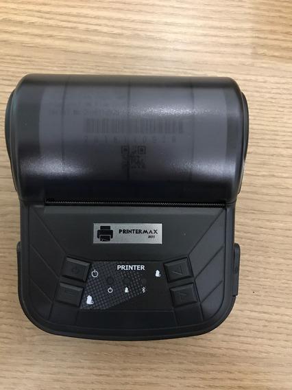 Kit 10 Mini Impressora Térmica Bluetooth 80mm Printermax M80
