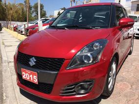 Suzuki Swift 2015 Rojo