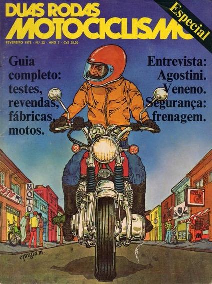 Duas Rodas N°32 Especial Yamaha Rd 75 Rs 125 Honda Cg 125 Ml