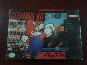Cleaning Kit Super Nintendo Original Lacrado R$ 250,00