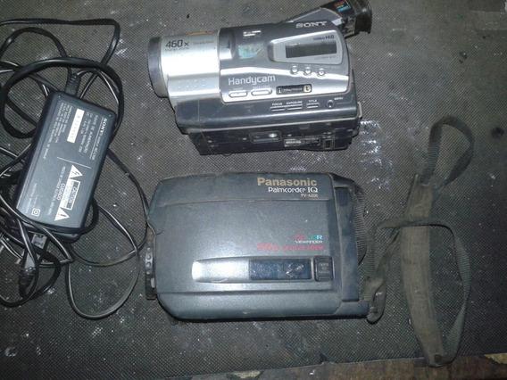 Filmadoras Sony E Panasonic (sucata)