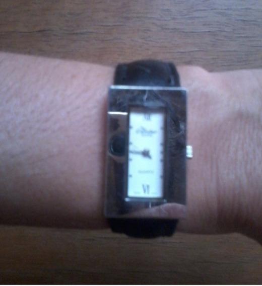 Relógio Condor Quadrado Quartz Feminino Num Romanos