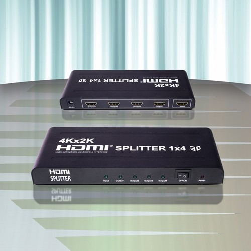 Diamond Dmd He-3114 4k Divisor Splitter Hdmi 3d 1 In X 4 Out