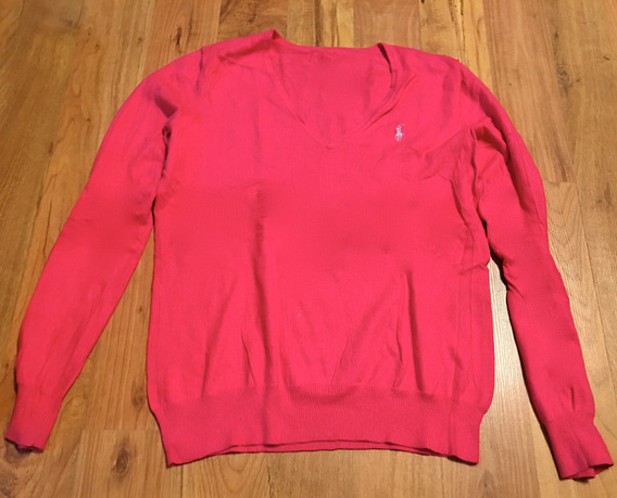 Lindo Sweater Polo Ralph Lauren Rosa Fucsia S 100% Original!