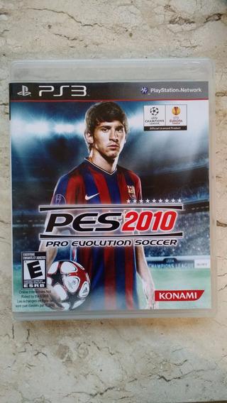 Pes 2010 Pro Evolution Soccer - Mídia Física - Ps3