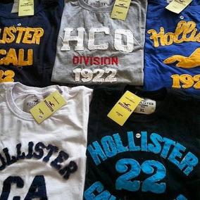 Camisetas Hollister